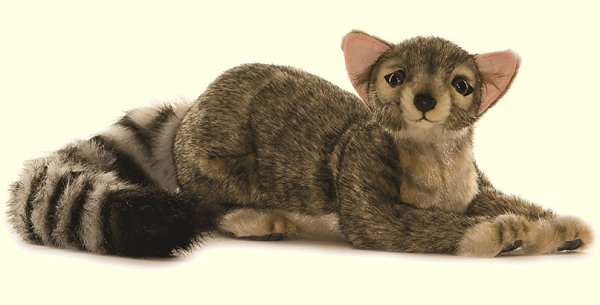 Hansa Stuffed Plush Ringtailed Cat