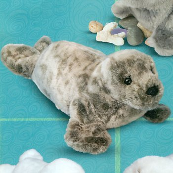 Douglas Classics Speckles Stuffed Plush Monk Seal
