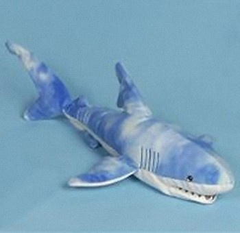 Sunny & Co. Stuffed Plush Blue Shark