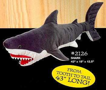 Melissa and Doug Big Stuffed Plush Shark