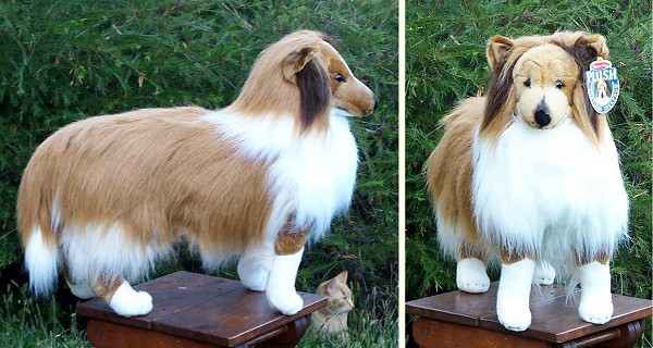 Stuffed Shetland Sheepdog From Stuffed Ark