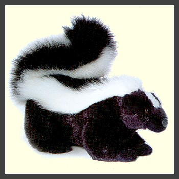 """Sachet"" Stuffed Plush Skunk"
