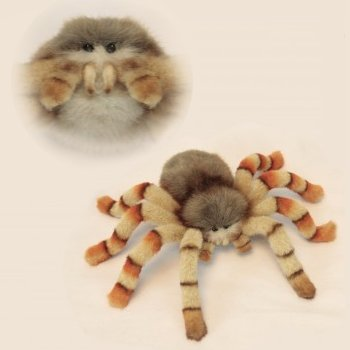 Hansa Plush Jumping Spider