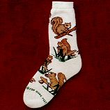 Squirrel Socks from CritterSocks.com