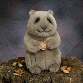 Lou Rankin Nuts Stuffed Plush Squirrel