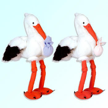 Wild Republic Cuddlekins Plush Storks