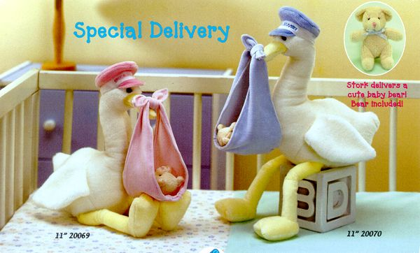 Special Delivery Stuffed Storks