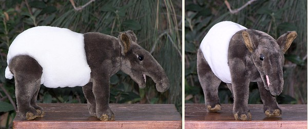 Hansa Stuffed Plush Tapir
