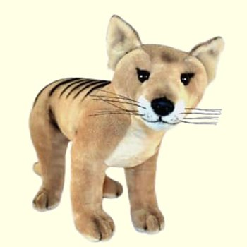 Plush Tasmanian Tiger Stuffed Animal