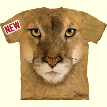Cougar Face T-Shirt from The Mountain