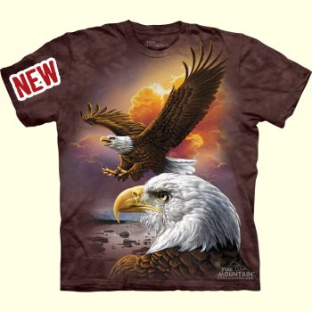 Eagle and Clouds T-Shirt from The Mountain