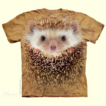 Hedgehog Face T-Shirt from The Mountain
