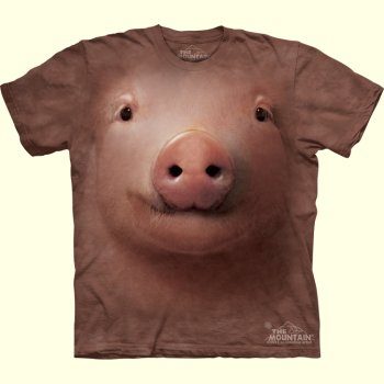 Pig Face T-Shirt from The Mountain