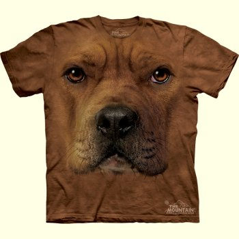 Pit Bull Face T-Shirt from The Mountain