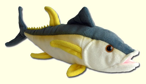 Cabin Critters Stuffed Plush Yellow Fin Tuna