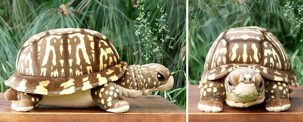 Cabin Critters Stuffed Plush Box Turtle
