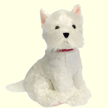 Fiesta Stuffed Plush Sitting Westie