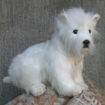 Hansa Stuffed Plush Westie