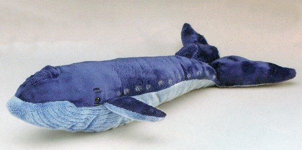 Wildlife Artists Stuffed Plush Blue Whale
